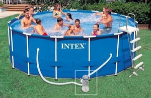 Avis piscine tubulaire Intex Metal Frame ronde