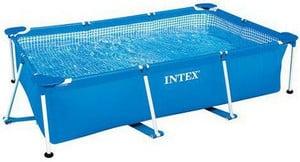 Test petite piscine Intex cadre Familar