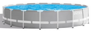 Test piscine tubulaire Intex Prism Frame ronde
