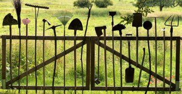 Outils indispensables à l'entretien d'un jardin