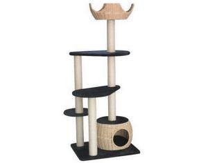 Test et avis sur l'arbre à chat Truffaut Mega Minou