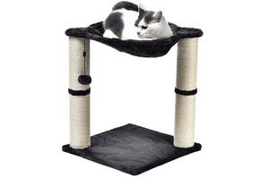 Test et avis sur le petit arbre à chat Amazon Basics